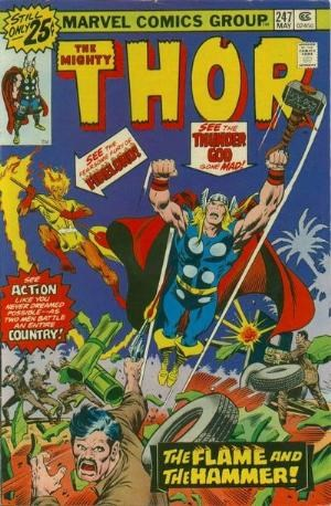 (Marvel) Cover for Thor #247