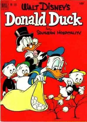 (Dell) Cover for Donald Duck #379 Southern Hospitality/Not by Barks.