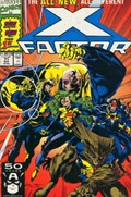 X-FACTOR #71  Cover New Team.