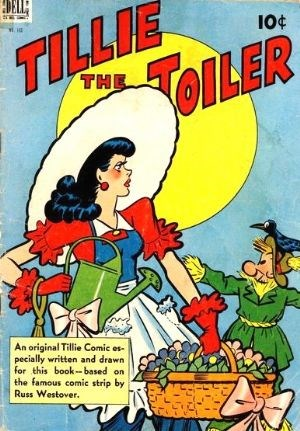 Comic Cover for Tillie The Toiler (Four-Color) (#195)