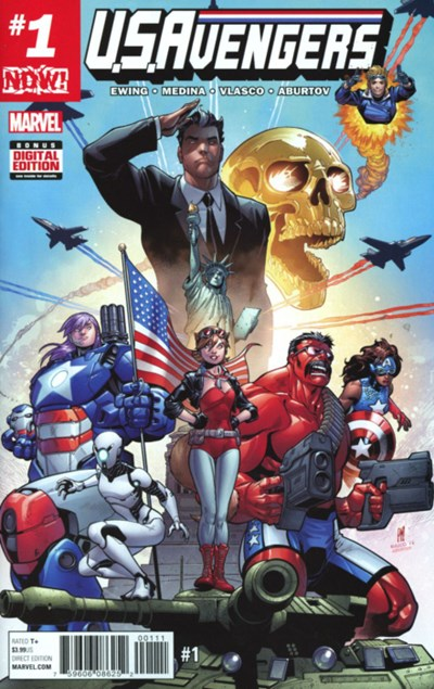 Comic Cover for U.S.AVENGERS (#)