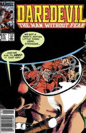 Comic Cover for Daredevil (#219)