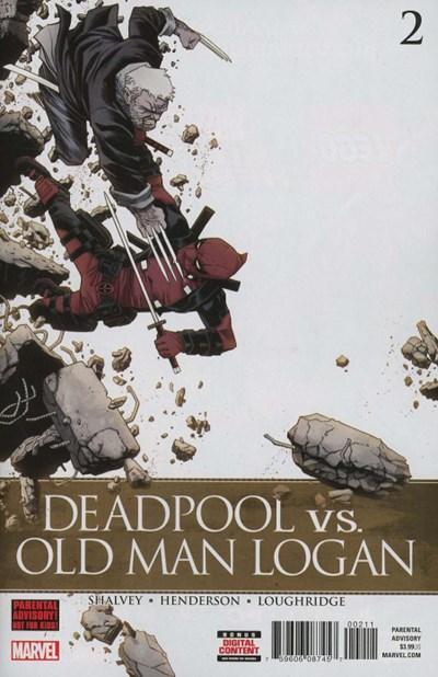 (Marvel) Cover for Deadpool Vs. Old Man Logan #2