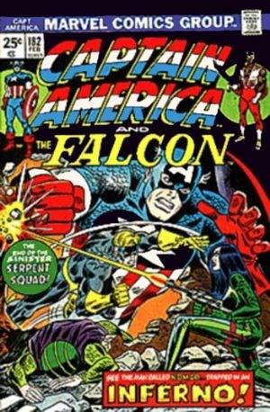 Comic Cover for Captain America (#182)