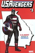 U.S.AVENGERS #1P  Variant Cover Rod Reis George State Variant Cover