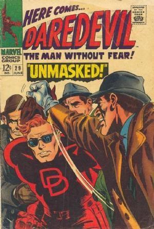 Comic Cover for Daredevil (#29)