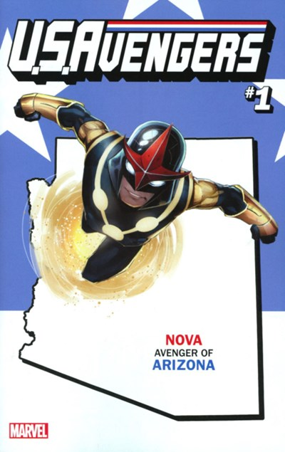 Comic Cover for U.S.Avengers (#1)