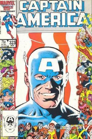(Marvel) Cover for Captain America #323 1st Appearance of John Walker aka Super Patriot / US Agent