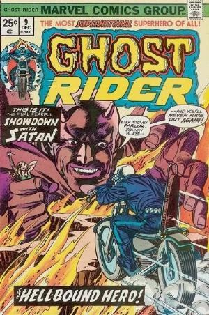 Comic Cover for Ghost Rider (#9)