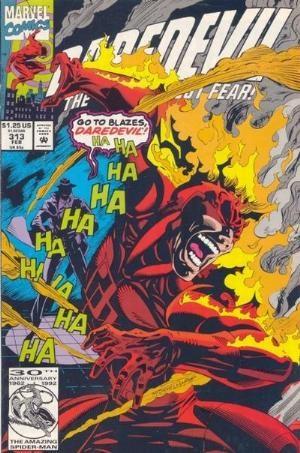 (Marvel) Cover for Daredevil #313