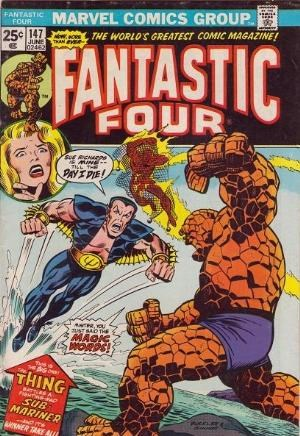 Comic Cover for Fantastic Four (#147)