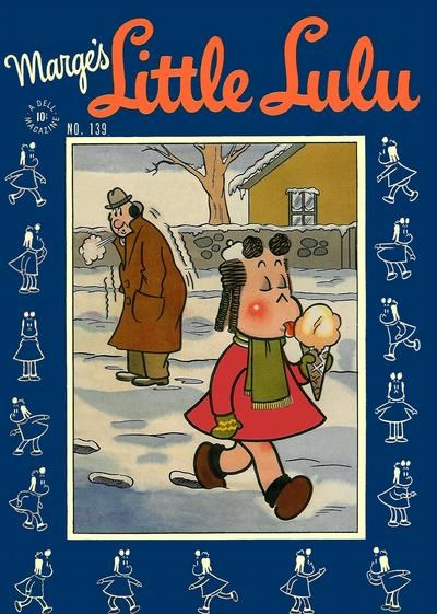 Comic Cover for Marge's Little Lulu (Four-Color) (#139)