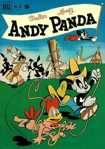 (Dell) Cover for Andy Panda #326