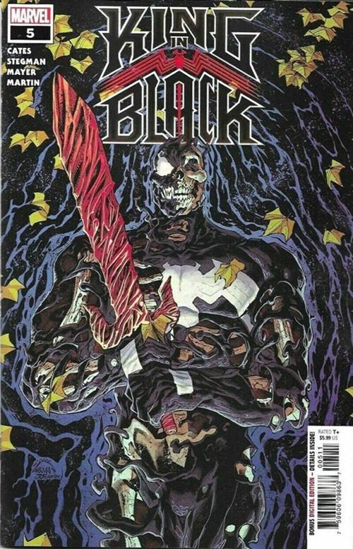(Marvel) Cover for King In Black #5