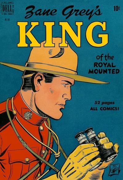 Comic Cover for King Of The Royal Mounted (Includes Four-Color)  (#283)