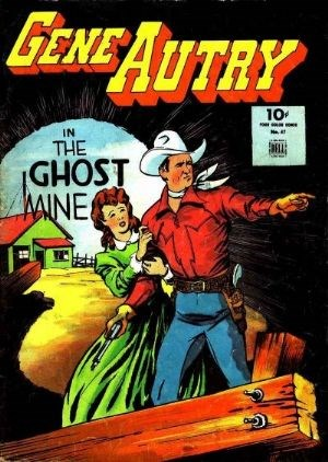 Comic Cover for Gene Autry Comics (Four-Color) (#47)