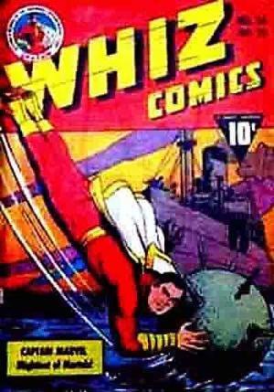 (Fawcett Publications) Cover for Whiz Comics #26