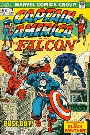 Comic Cover for Captain America (#171)