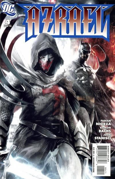 (DC) Cover for Azrael #4