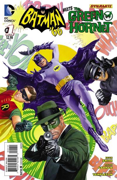 (DC) Cover for Batman '66 Meets The Green Hornet #1