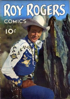 Comic Cover for Roy Rogers Comics (Four Color) (#38)