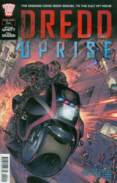 (Rebellion) Cover for Dredd Uprise #2
