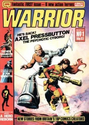 Comic Cover for Warrior (#1)