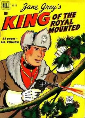 Comic Cover for King Of The Royal Mounted (Includes Four-Color)  (#310)