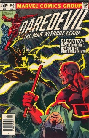 Comic Cover for Daredevil (#168)