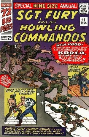 (Marvel) Cover for Sgt. Fury And His Howling Commandos #1 1965