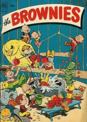 (Dell) Cover for Brownies, The (Four-Color) #398