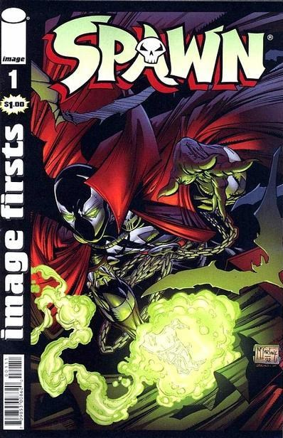 Comic Cover for SPAWN (#)