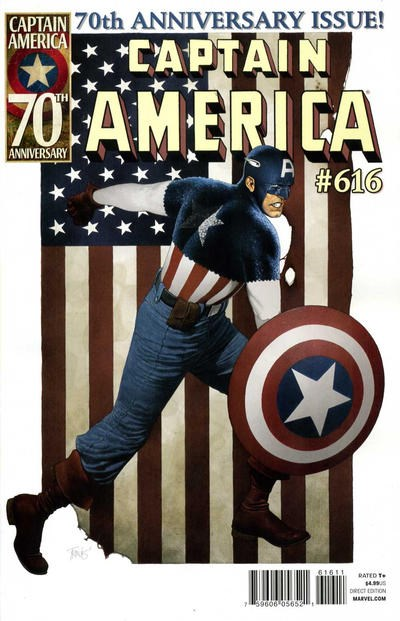 Comic Cover for Captain America (#616)