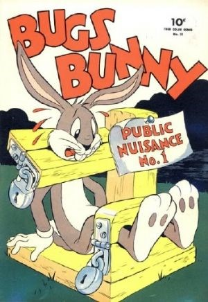 Comic Cover for Bugs Bunny (Four-Color) (#33)