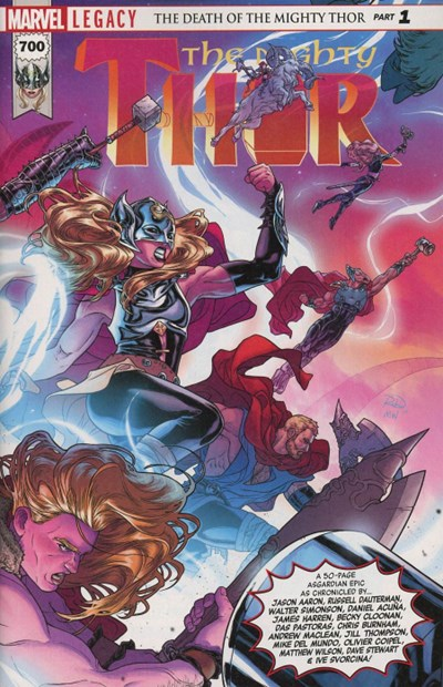 Comic Cover for Mighty Thor (Marvel Legacy) (#700)