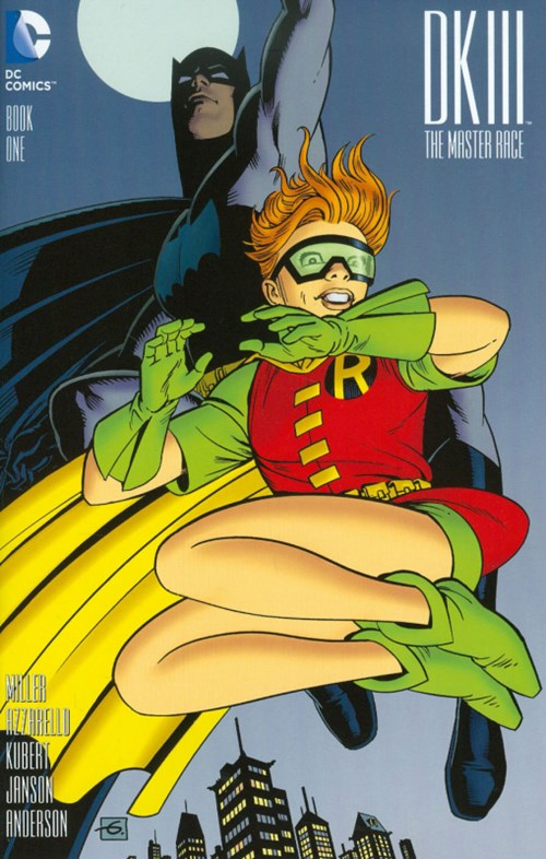 (DC) Cover for Dark Knight Iii: The Master Race #1 Dave Gibbons Variant Cover. Limited 1 for 50.