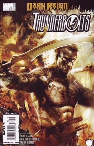 (Marvel) Cover for Thunderbolts #132