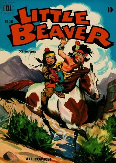 Comic Cover for Little Beaver (Four-Color) (#294)