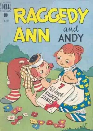 Comic Cover for Raggedy Ann And Andy (Four-Color) (#262)