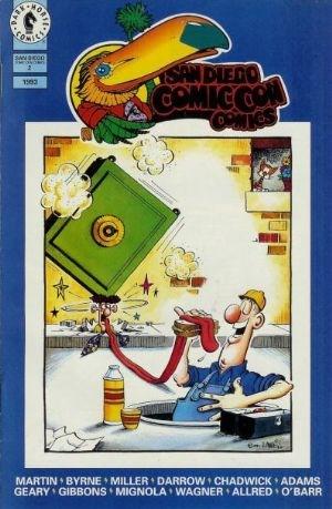 Comic Cover for San Diego Comic-Con Comics (#2)