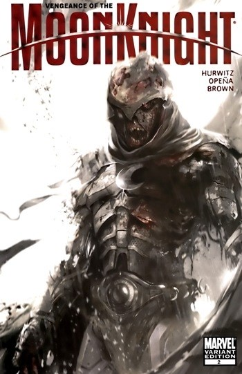 (Marvel) Cover for Vengeance Of The Moon Knight #2 Francesco Mattina Zombie Incentive Variant Cover