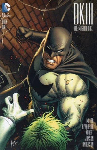 (DC) Cover for Dark Knight Iii: The Master Race #1 AOD Collectibles Exclusive Variant Cover by Dale Keown