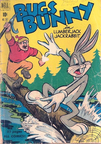 Comic Cover for Bugs Bunny (Four-Color) (#307)