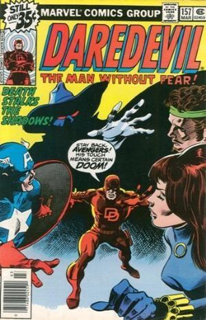 Comic Cover for Daredevil (#157)