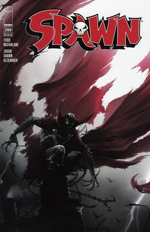 (Image) Cover for Spawn #289 Scott's Collectables 2018 Fan Expo Canada Exclusive Francesco Mattina Variant Limited to 666