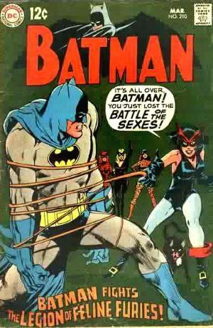 (DC) Cover for Batman #210 1st Feline Furies Appearance