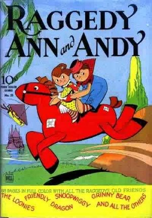 Comic Cover for Raggedy Ann And Andy (Four-Color) (#23)