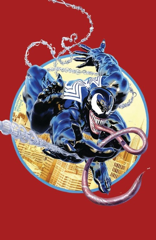 (Marvel) Cover for Venom #1 KRS / Unknown Comics 2018 MegaCon Exclusive Mike Mayhew Amazing Spider-Man #301 Homage Variant