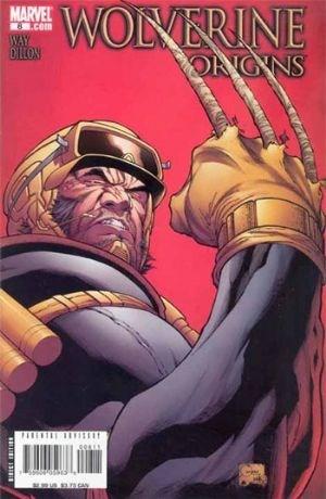 (Marvel) Cover for Wolverine: Origins #8 Joe Quesada Cover