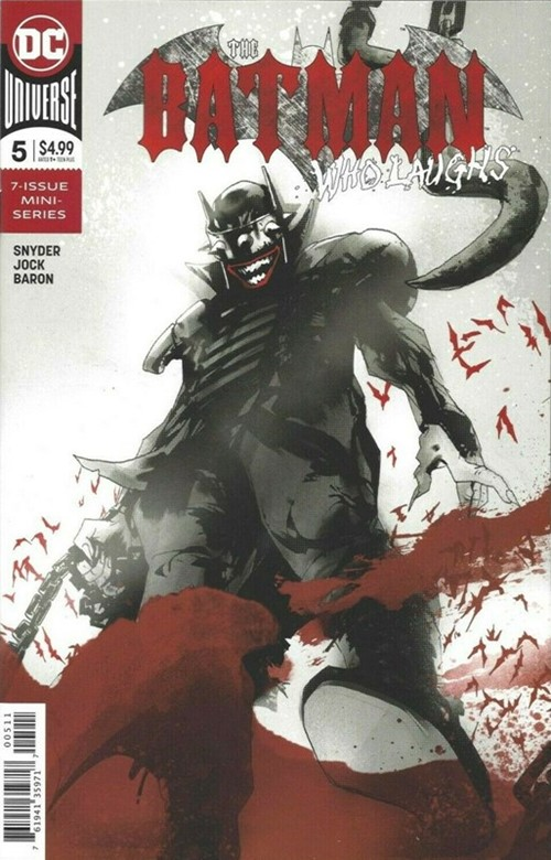 (DC) Cover for Batman Who Laughs, The #5